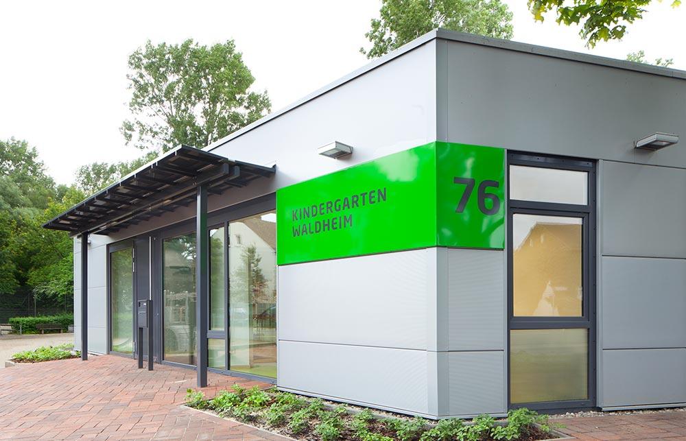 Projekt Kindergarten Waldheim